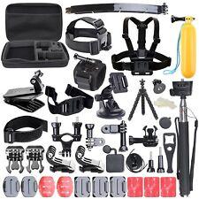 Accessori Kit Set per GoPro Hero 6 5 4 3 2 1 sessione Sport Macchina Fotografica con Custodia