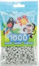 1000 Perler Light Grey Color Iron On Fuse Beads  80-15181