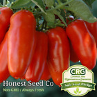 100 San Marzano Tomato Seeds Heirloom Non GMO Garden Seeds from USA Ships Free