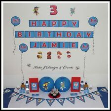 Birthday, Child PAW Patrol Party Hanging Decorations