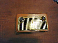 1957 1958 Zenith Royal 750 8 Transistor Radio  Parts/Repair