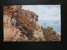 A.R.Quinton postcard *1088 Cripple's Path, Undercliff, Isle of Wight