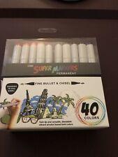 Super Markers Permanent 40 Colors