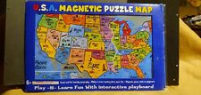 Atta Boy Usa Magnetic Puzzle Map