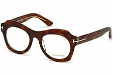 Authentic Tom Ford Eyeglasses TF5360 056 Havana Crystal Frames RX-ABLE Lens 49MM