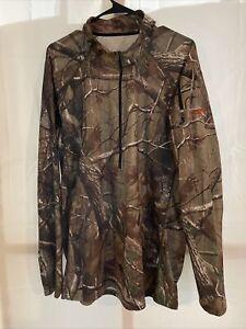 Sitka Zip 2XL Realtree Camo 1/2 Half Zip Pullover Shirt Long Sleeve Hunting Hunt