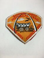 "Vintage Cub Scout Webelos Patch St Louis Council BSA Gateway Trail 3"" X 2"""