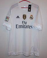 Real Madrid Spain home shirt 15/16 Adidas BNWT Size XL