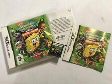 NINTENDO DS DSL DSi GAME Spongebob Squarepants FEATURING NICKTOONS GLOBS OF DOOM