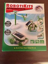ROBOTIKITS  6-in-1 DIY Educational Solar Kit OWI-MSK610 BRAND NEW 2012