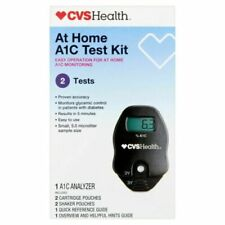 CVS PHARMACY A1C Self Check Home A1C System 2 Test Kit GLYCEMIC Date 8/20/20