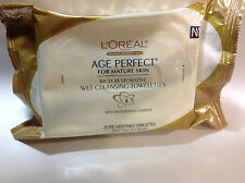 L'Oreal Age Perfect Cleansing Towelettes for Mature Skin + RESTORATIVE COMPLEX