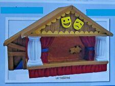 Maison Enneigée Et Des Schtroumpfs N°24  Neuf figurine miniature collection