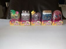 Shopkins Squeezkins Squishy Squeeze Toy Lot Of 5