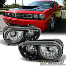 2008 2009 2010 2011 2012 2013 2014 Dodge Challenger SE R/T Headlights Left+Right