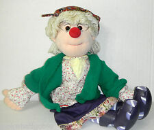 "Big Comfy Couch Granny Garbanzo doll 22"" Rare !"