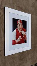 Cincinnati Reds Johnny Bench Framed 12x16 Photo