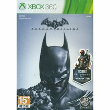 Xbox 360 Batman: Arkham Origins + Deathstroke Challenge Pack DLC (2016) NEW