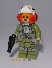 Lego A-Wing Pilot Tallissan Lintra from Set 75196 Star Wars Minifigure NEW sw884