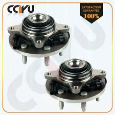 Pair 2 Front Wheel Hub Bearing For Ford Expedition Lincoln Navigator 4WD 6Lug