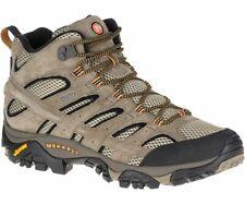 Merrell Mens Moab 2 Mid Walking Boot - Pecan - Gore-Tex
