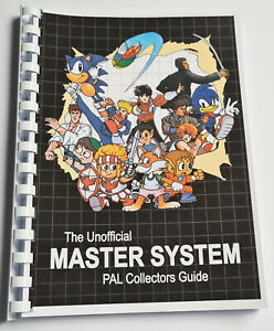 100% Unofficial PAL SEGA Master System Collectors Guide