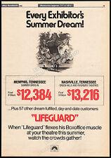 LIFEGUARD__Original 1976 Trade print AD promo_poster__SAM ELLIOTT__ANNE ARCHER