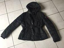 Blouson veste IKKS taille M gris et noir bon état