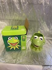 Kermit Ceramic Figural Mug New Applause Sesame Street