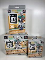 2020 Donruss Optic Football 1 Mega Box 1 Blaster 1 Hanger Factory Sealed