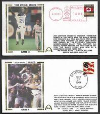 Boston Red Sox & Joe Carter UnSigned World Series Gateway Stamp Envelopes