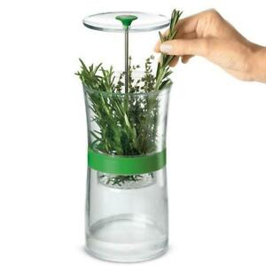 Cuisipro Original Herb Keeper Keeps Herbs Fresh Storage Container - round