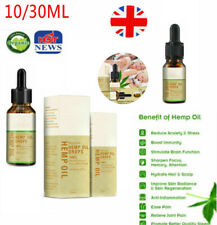 10/30ML Premium Strong Strength Hemp Extract Oil 3000mg Organic Herbal Drops by