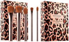 Ltd Ed Sephora Mind Your Metals Makeup Five Brush Set BNIB & Sealed $106 value