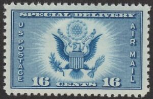 GEM 100! 1934 U.S. AIRMAIL SPECIAL DELIVERY, MNH GRADED SCOTT CE1 SMQ $225!