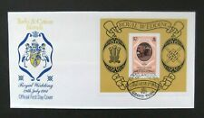 Turks & Caicos-1981-Princess Dianna/Royal Wedding $2 Minisheet FDC-Grand Turk