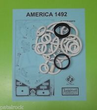 1986 Juegos Populares America 1492 pinball rubber ring kit