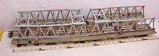 "CUSTOM BUIILT 34"" BRIDGE WOOD DOUBLE TRESTLE GRIDER EXTENSION BRIDGE"