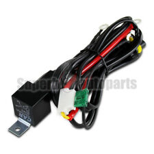 30 Amp Xenon HID Conversion Kit Relay Wiring Harness H1 H3 H4 Single Beam
