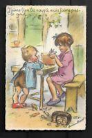 Carte Postale Germaine BOURET TRES BON ETAT Dim 9 X 14 Cm SUPERBE