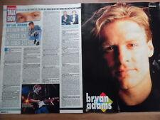 BRYAN ADAMS 2x A4 + Songbox Bravo Clipping 287