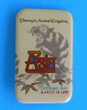 WDW DISNEY'S ANIMAL KINGDOM ASIA OPENING MARCH 18, 1999 METAL BUTTON PP # 13804