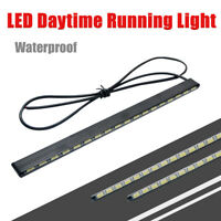 2X Running Waterproof Bar 21LED MA138 Driving 12V Daytime Car 5630 DRL SMD Light