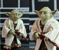Star Wars The Force Awakens Jedi Master Yoda PVC Action Figure Model 5""