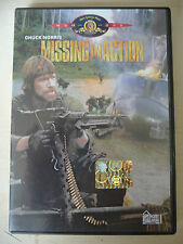 """DVD """"MISSING IN ACTION"""" CHUCK NORRIS 1985"""