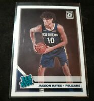 Jaxson Hayes 2019-20 Donruss Optic Rated Rookie RR RC #190 Pelicans