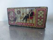 Zigarettendose 1910 KOCHERIA Deutscher Wekbund Aalen gentleman cigarette tin