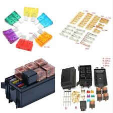 Durable Fuse Box Auto 6 Relay Block Holders 5 Road For Car Trunk ATV Insurance