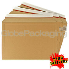 250 x A2 RIGID ENVELOPES MAILERS A4 BOOKS DVD'S ETC 334x234mm - AMAZON STYLE