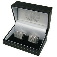 Chelsea Fc Stainless Steel Metal Cufflinks In Executive Gift Box